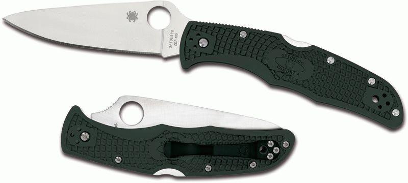 Spyderco Endura VG10 Satin Plain Blade