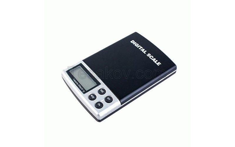 Электронные карманные весы 500г/0.1г