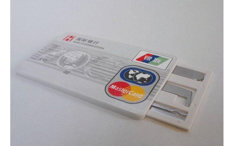 Набор отмычек в виде банковской карты