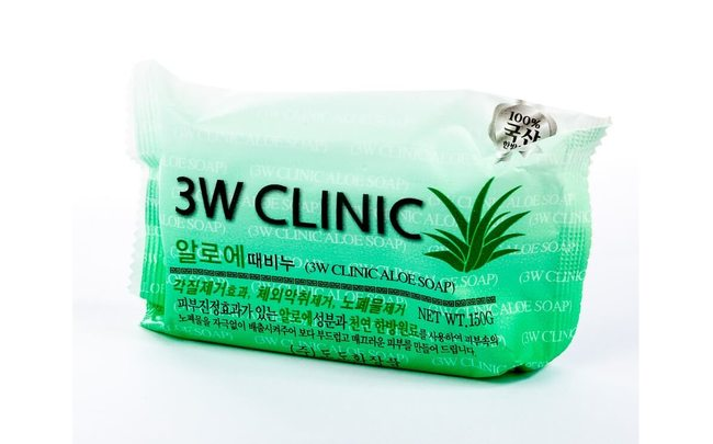 Мыло с Алоэ от 3W Clinic