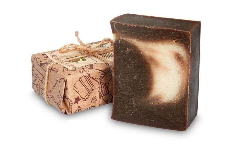 Дегтярное мыло от угрей Birch tar
