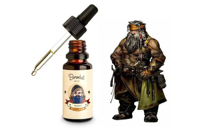 Масло Wizard для бороды с витамином Д