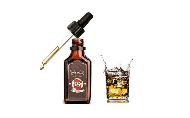 Натуральное масло Irish Whiskey для бороды