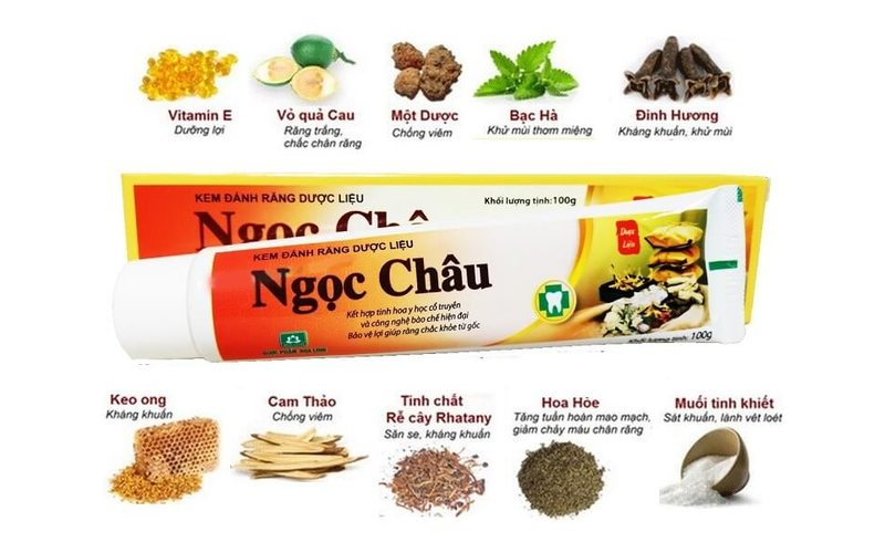 Ngoc Chau зубная паста на травах