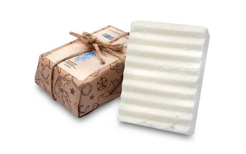 Соляное мыло для рук и лица White Crystal