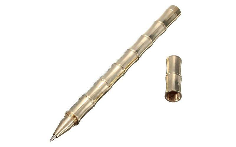 Тактическая шариковая ручка Бамбук