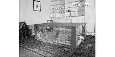 Кровать от бомбежки