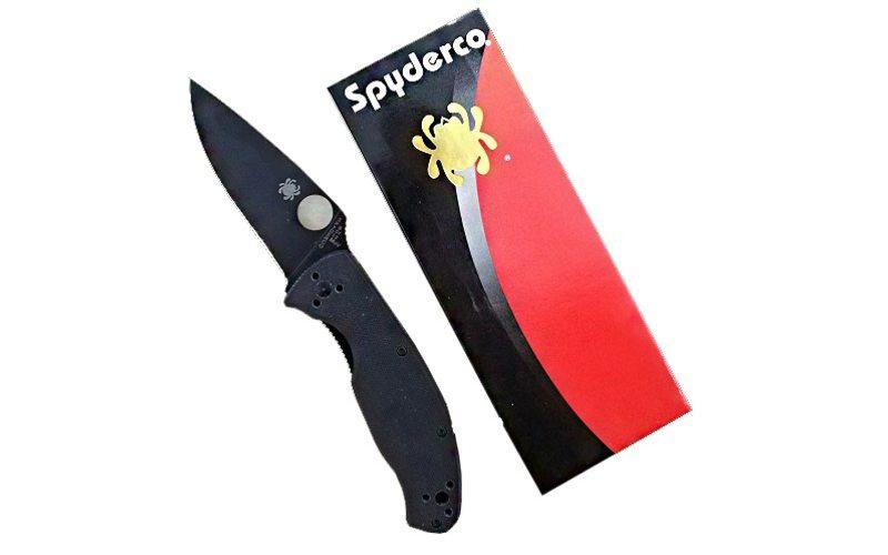 Нож Spyderco Tenacious c122gp Black (реплика)