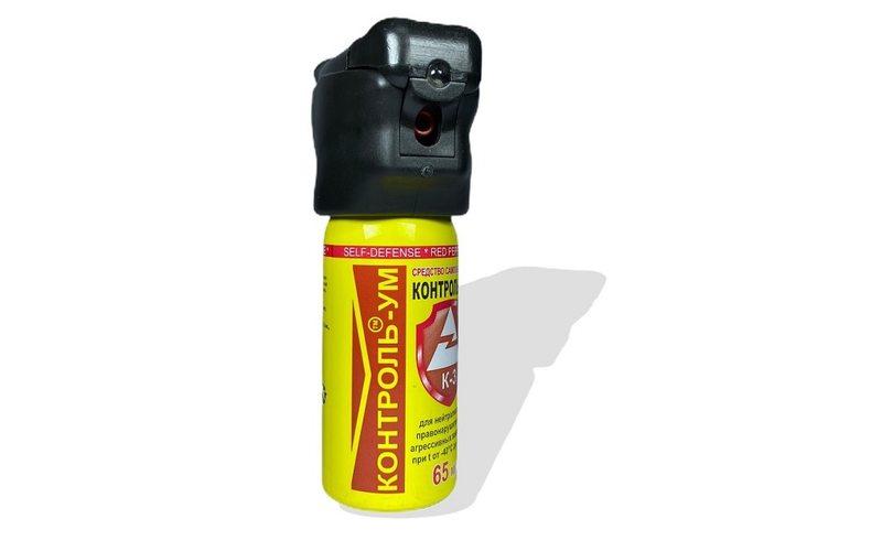 Газовый баллончик с фонариком Контроль-УМ 65 мл