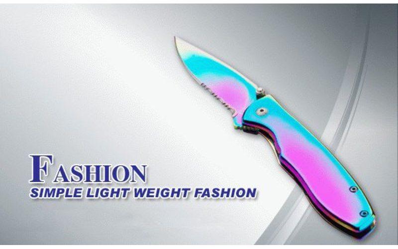 Складной нож с не отражающим покрытием