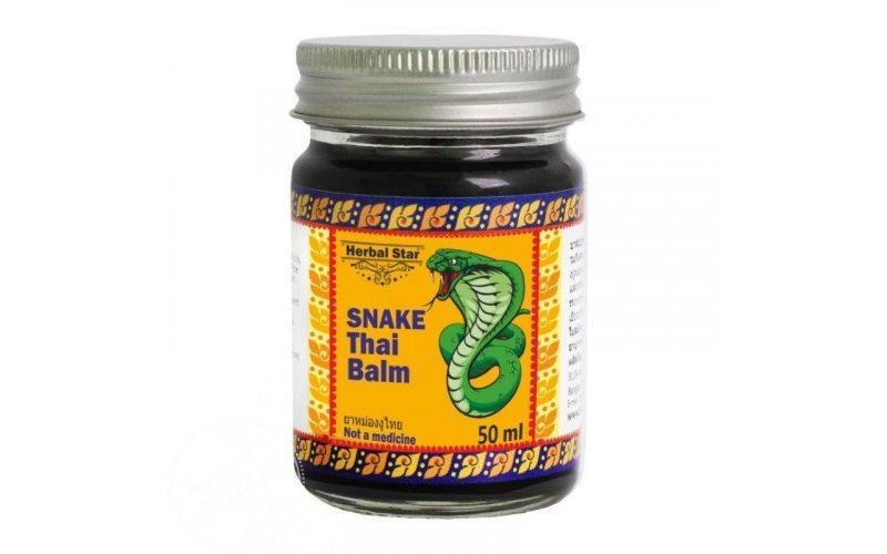 Змеиный тайский бальзам Snake Thai Balm (50 г)