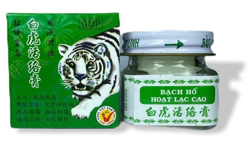 Вьетнамская мазь Белый Тигр