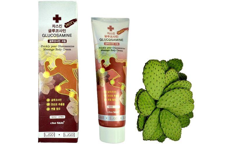 Cha Skin разогревающий гель для суставов с экстрактом опунции и глюкозамином (150 мл)