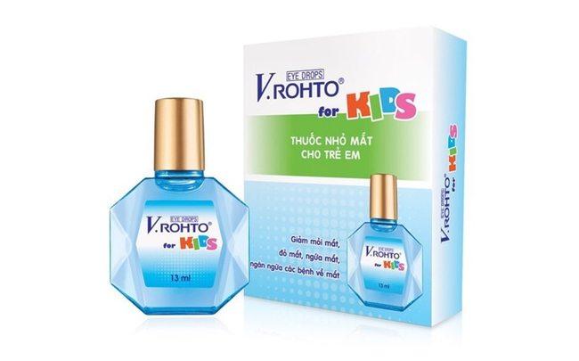 Детские капли для глаз V.Rohto
