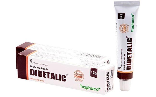 Мазь Dibetalic от заболеваний кожи