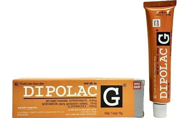 Dipolac G вьетнамская мазь от псориаза