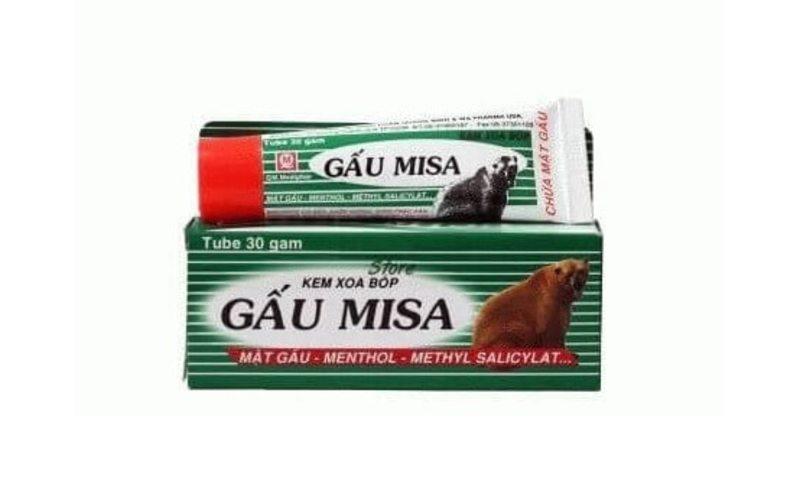 Мазь с медвежьей желчью Gau Misa