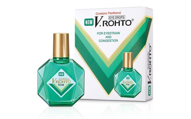 Капли для ухода за глазами V.Rohto
