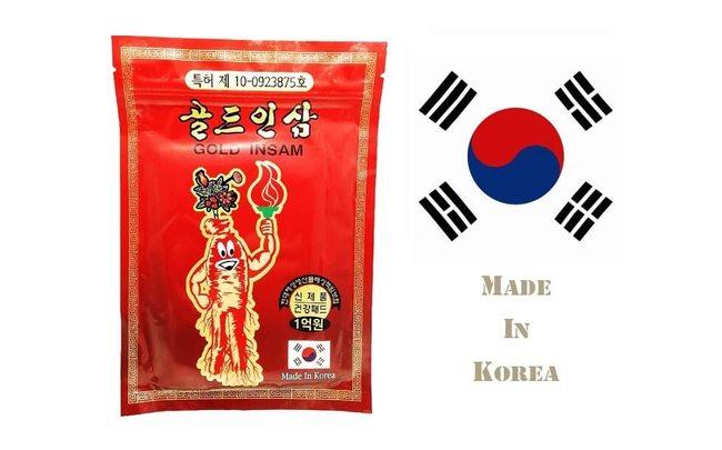 Gold Insam пластырь из Кореи
