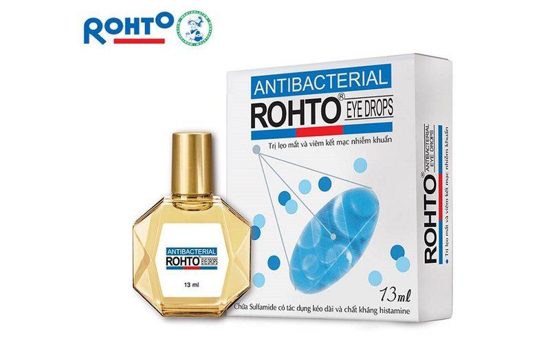 Капли для глаз с антибактериальным эффектом, Rohto (13 мл)
