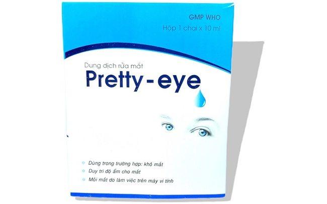 Капли для глаз от перенапряжения Pretty-Eye