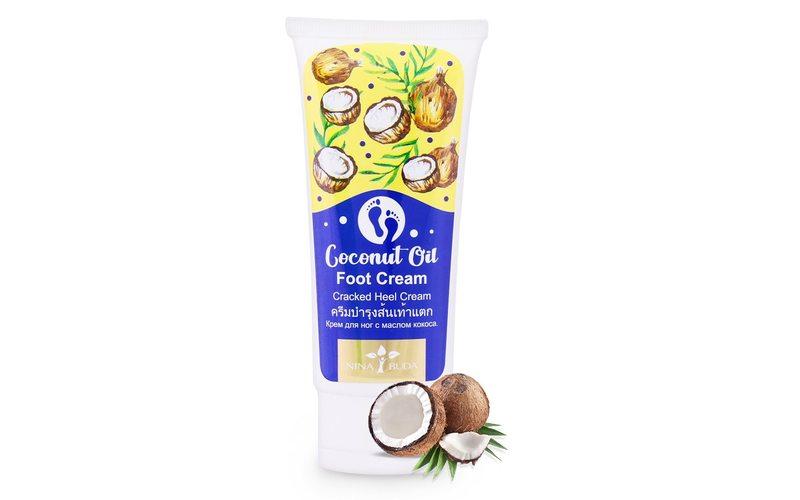 Крем для ног с кокосовым маслом Cracked Heel Cream Coconut Oil, Nina Buda (100 мл)