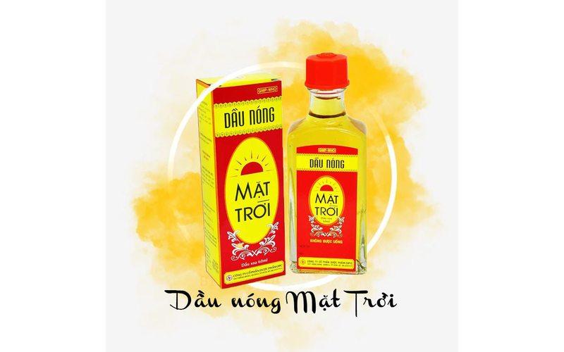 Согревающее масло Mat Troi для растираний при боли в спине и суставах (20 мл)