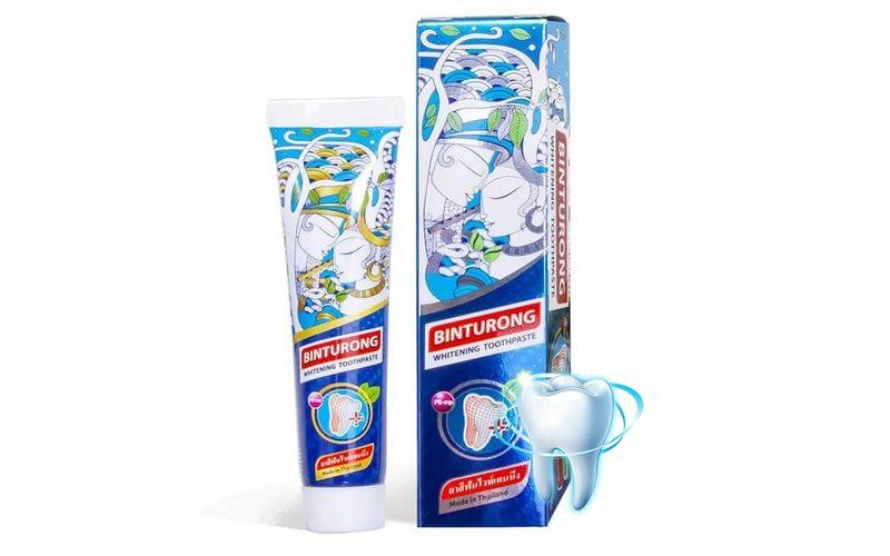 Отбеливающая зубная паста Whitening Toothpaste, Binturong (60 г)