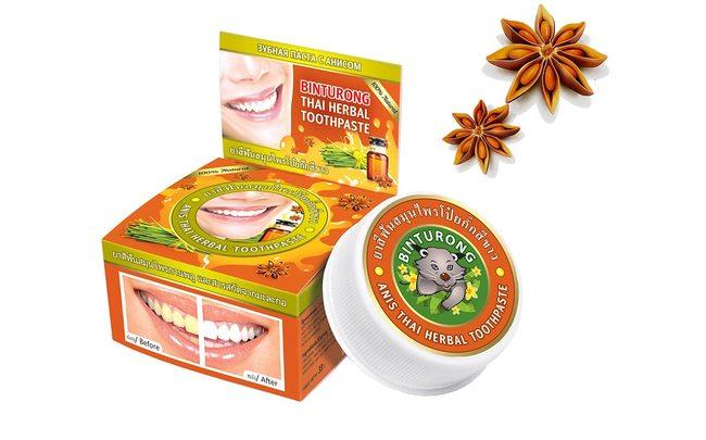 Зубная паста с анисом Binturong