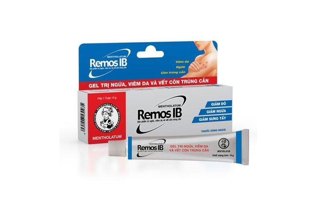 Remos IB вьетнамская мазь при кожных высыпаниях