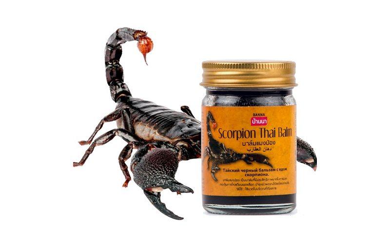 Тайский бальзам Scorpion Thai Balm (Banna 50 мл)