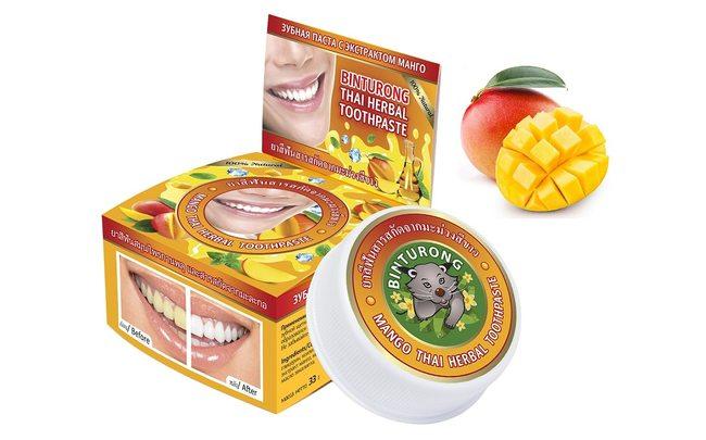 Зубная паста Binturong Манго