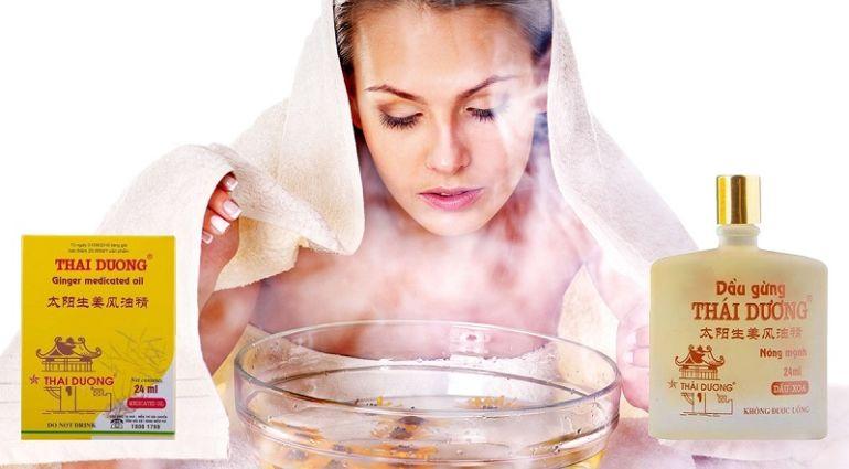 ингаляция с помощью масла