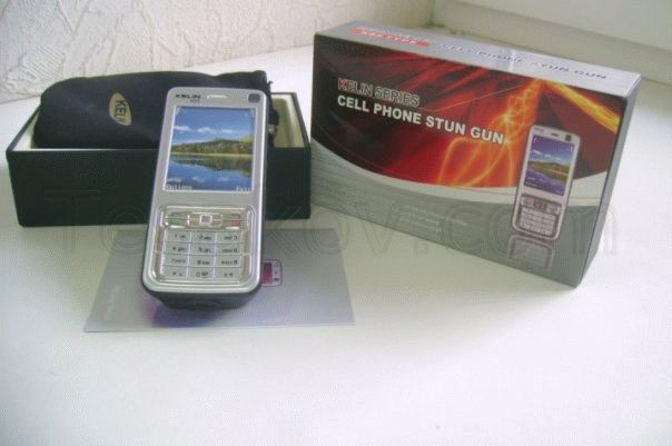 электрошокер в виде телефона