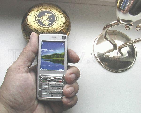 электрошокер в виде мобильного телефона