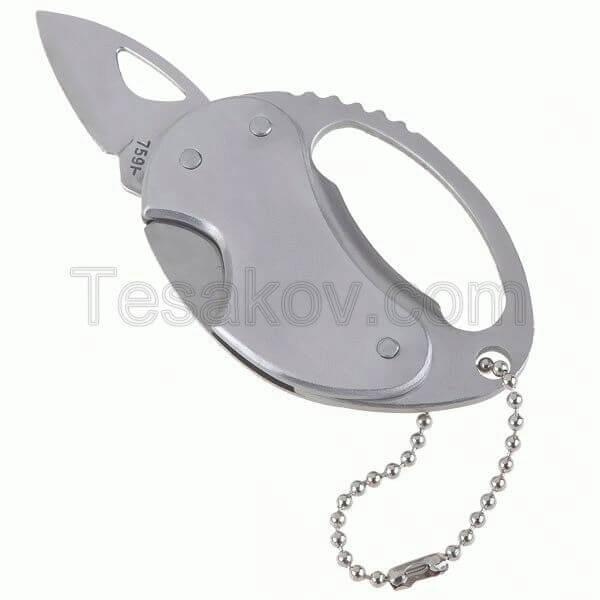Походный складной нож + открывалка