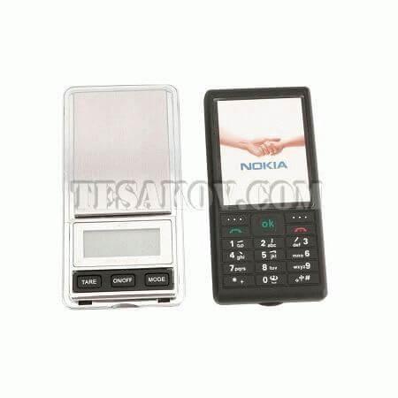 весы в виде телефона Nokia